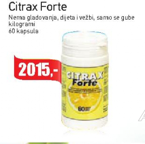 Citrax Forte kapsule