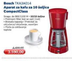 Aparat za kafu TKA3A014