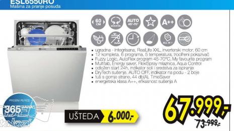 Sudomašina ESL6550RO