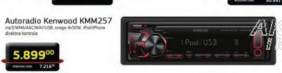 Auto radio KMM 257