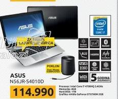 Laptop N56JR-S4010D