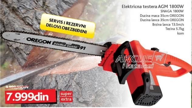 Električna testera 1800W