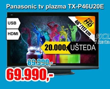 Televizor plazma TX - P46U20E