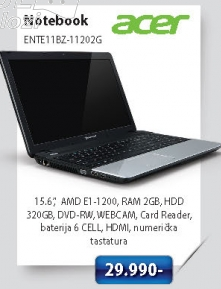 Notebook ENTE11BZ-11202G32MNKS