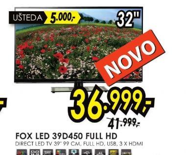 Televizor LED 39D450 FHD