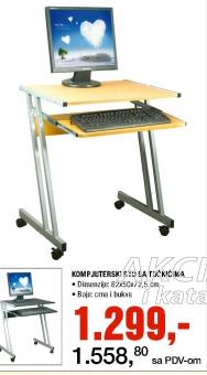 Kompijuterski sto sa točkićima
