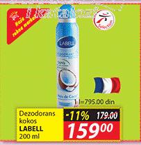 Dezodorans kokos