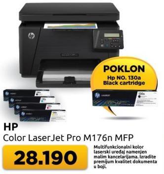 Kolor multifunkcijski uređaj Laserjet Pro M176n MFP + poklon Black kertridž
