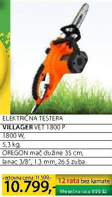 Električna testera VET 1800 P