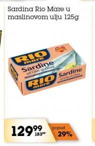Sardina u maslinovom ulju