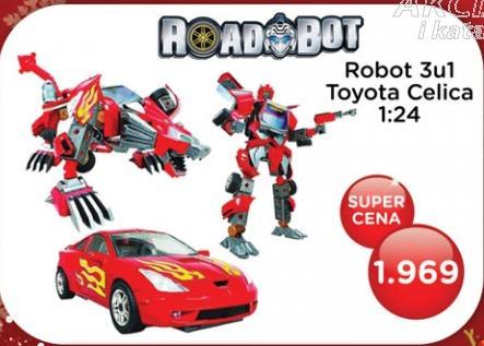 Robot 3u1 Toyota Celica Roadbot