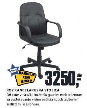 Kancelarijska stolica Roy