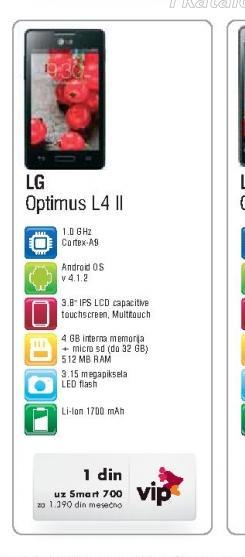 Mobilni Telefon L4 II