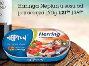 Haringa u paradajz sosu