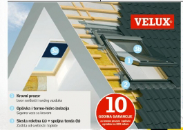 Velux prozor GZL F06