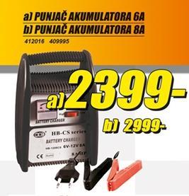 Punjač akumulatora 6A
