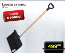 Lopata za sneg