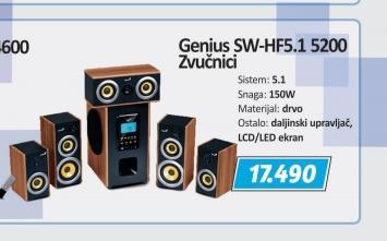 Zvučnici SW-HF5.1
