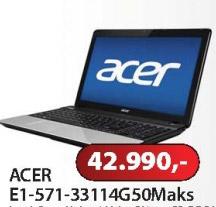 Notebook E1-571-33114G50Maks