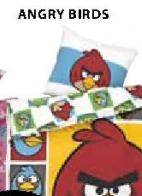 Posteljina Angry Birds