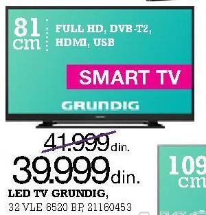 """Televizor LED 32"""" 32 VLE 6520 BP"""