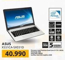 Laptop X551CA-SX031D