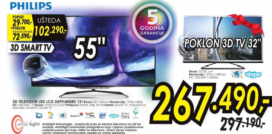 Televizor 3D LED LCD 50L2333DG