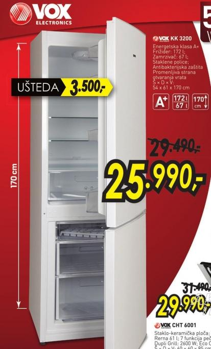 Kombinovani frižider Kk 3200
