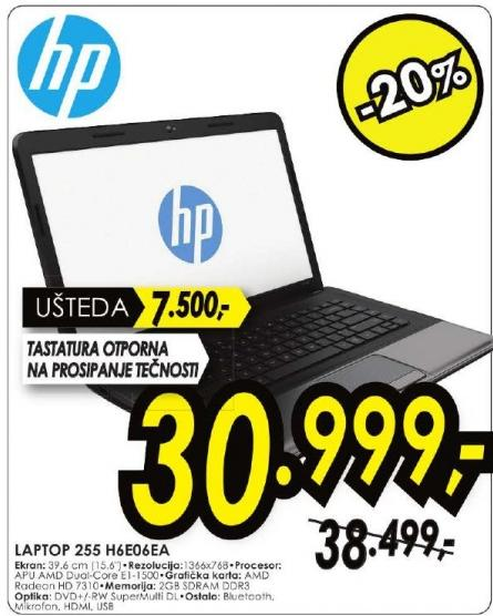 Laptop 255 H6E06EA