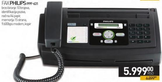 Fax Uređaj PPF 631