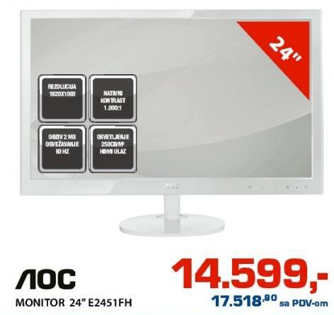 "Monitor 24"" E2451Fh"
