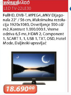 Imago LED Tv-22Le30