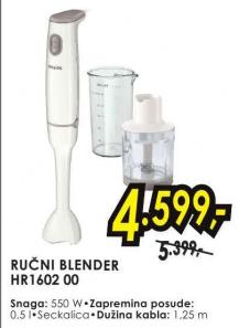 Ručni Blender Hr1602 00