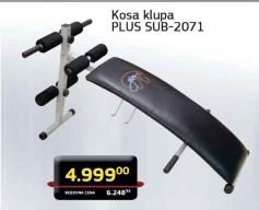 Kosa klupa PLUS SUB -2071