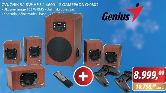 Zvučnici 5.1  SW-HF 5.1 4600