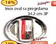 Inox oval