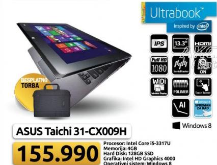 Laptop TAICHI 31-CX009H