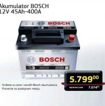 Akumulator Bosch, 12V 45Ah-400a