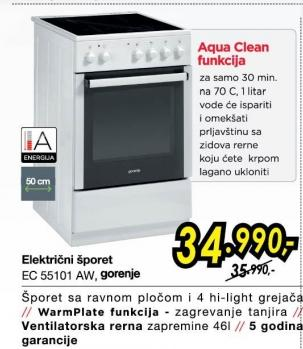 Električni Šporet EC55101