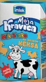 Milk shake sa ukusom keksa