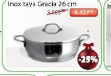Tiganj Inox Tava Gracia