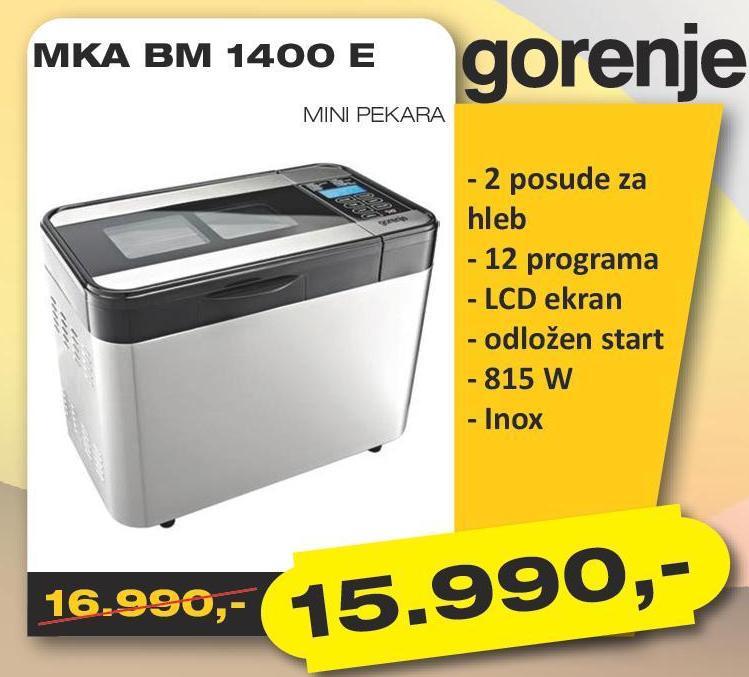 Pekara BM 1400E