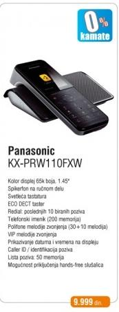 Telefon KX-PRW110FXW