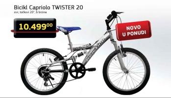 Bicikl TWISTER 20