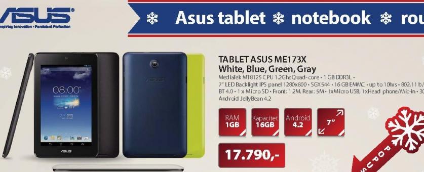 "Tablet 7""MemoPad ME173X-1A062A"