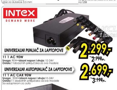 Punjač za laptop 11 1 AC CAR 90W