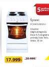 Šporet FCEW51001011