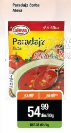 Čorba paradajz