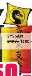 Posteljina Syssan