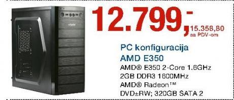 PC konfiguracija AMD E350